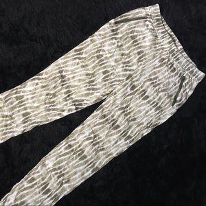 Tribal Animal Print Pants